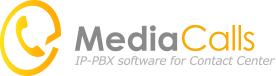 MediaCalls IP-PBX software for Contact Center