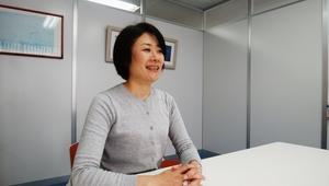 有田由紀氏の写真