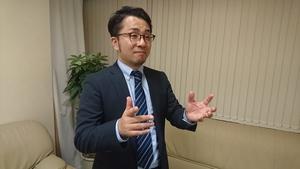 尾崎直広氏の写真