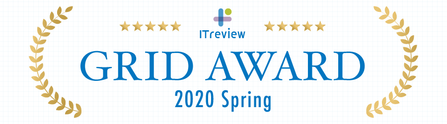 ITreview Grid Award 2020 Spring